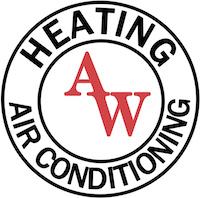 AW Heating & Air Conditioning Logo